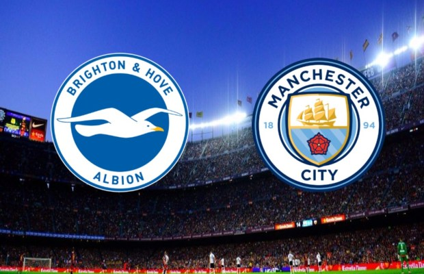 BRIGHTON VS MANCHESTER CITY DI LIGA PREMIER